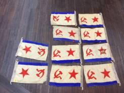 Флаг ВМФ СССР. Шерсть. Оригинал