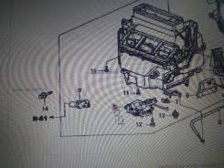 Сервопривод заслонок печки. Honda Odyssey, GH-RA9, LA-RA6, GH-RA8, GH-RA7, GH-RA6, LA-RA7, LA-RA8, LA-RA9 Honda Lagreat, LA-RL1 Honda Stepwgn, UA-RF8...