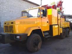 Краз 6322. Грузовой Эвакуатор на базе КРАЗ 6322