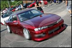 Бампер. Nissan Silvia, S14 Nissan 240SX Nissan 200SX, S14