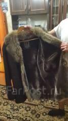 Продам зимнюю меховую шубу (дубленку) мужскую 54 размер. Фокино.