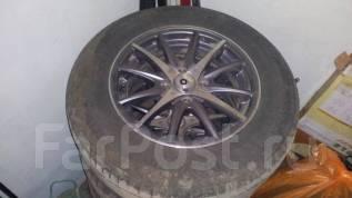 Продам летние шины нокия с дисками. Шины новые. x14 4x100.00 ET45