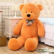 Медведь плюшевый 1 метр, много цветов, бесплатная доставка!