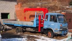 Nissan Diesel UD. Продается грузовик с манипулятором , 6 925 куб. см., 5 000 кг.