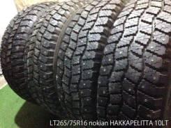 Nokian Hakkapeliitta 10. Зимние, шипованные, износ: 20%, 4 шт