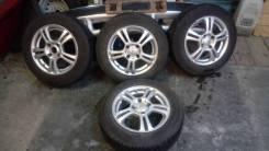 Dunlop R15 на литых дисках. x15 4x114.30