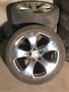 """Продам автомобильные диски R22 с летними шинами. 9.5x22"""" 5x150.00 ET15 ЦО 110,1мм."""