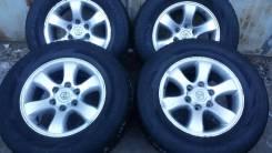 Продам зимние шины+диски 265/65/17 на Prado 120/150 Surf/ Lexus/Pajero. 7.5x17 6x139.70 ET30 ЦО 110,0мм.