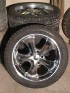 """Продам автомобильные диски R22 с зимними шинами. 9.5x22"""" 5x150.00 ET35 ЦО 110,1мм."""