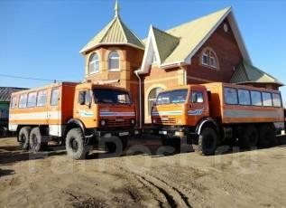 Камаз 4310. вахтовка, 10 850 куб. см., 15 000 кг.