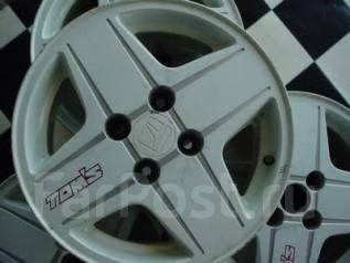 Old school japan легкосплавные диски Tom's + резина зима. 6.5x15 4x114.30 ET20