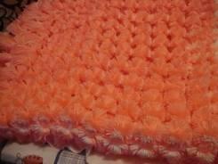 Плету на заказ пледы, коврики, накидки из помпонов