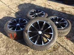 225/55R18 Dunlop SJ8 на литье. В пути из Японии (Х074). 7.5x18 5x114.30 ET48. Под заказ