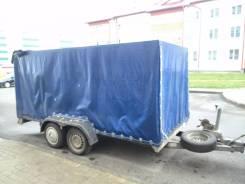 Fitzel Duo. Прицеп бортовой легковой Boeckmann, 2 250 кг.
