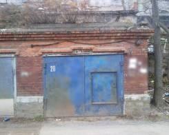 Боксы гаражные. улица Луговая 57а, р-н Луговая, 46,0кв.м., электричество, подвал. Вид снаружи