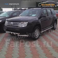 Кенгурятники. Renault Duster