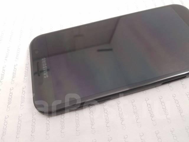 Модуль Дисплея+Корпус Samsung A7 2017 SM-A720 Black (Черный