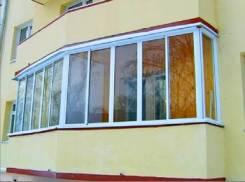 Отделка балкона, Утепление балкона, Остекление балкона, Ремонт балкона