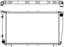 Радиатор охлаждения двигателя. Subaru Forester, SF5 Двигатель EJ20G