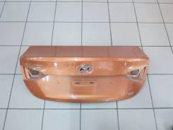 Крышка багажника. Hyundai Solaris, HCR