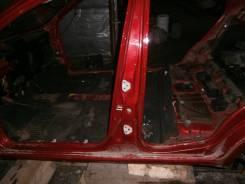 Порог левый со стойкой центральной Chevrolet Aveo T250 05-11 Контрактное Б/У 96462965 96462967
