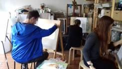 Занятия по рисунку, живописи, композиции