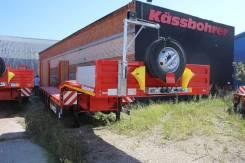 Kassbohrer. LB6E Раздвижной низкорамный трал, 68 000 кг.