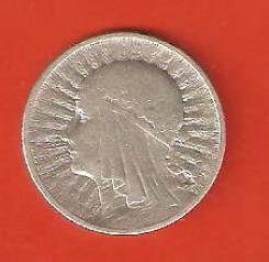 2 злотых 1933 г. Польша, Святая Ядвига, серебро.