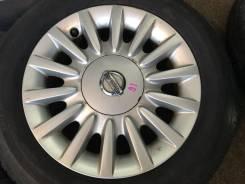 Nissan. 6.0x15, 4x114.30, ET52, ЦО 66,1мм.