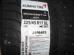 Kumho WinterCraft Ice WI31. Зимние, шипованные, 2015 год, без износа, 4 шт