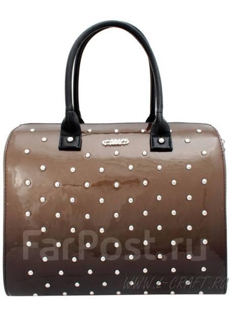 eb7416c8af1b Новая сумка лак черно-коричневый - Аксессуары и бижутерия в Нижнем ...