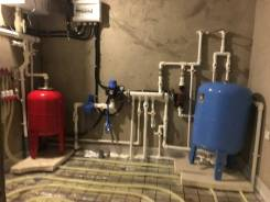 Монтаж систем Отопления и водаснабжения