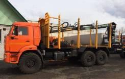 Соломбалец СФ-75С. Продается Сортиментовоз с КМУ СФ 75С на шасси 43118-3090-46, 12 000 куб. см., 9 100 кг.