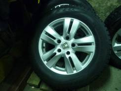 Зимнии колеса на литье хонда. 6.5x15 5x114.30 ET45 ЦО 66,6мм.
