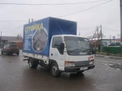 Isuzu NPR. Японский грузовик Isuzu ELF 2001г. широколобый., 4 600 куб. см., 2 200 кг.