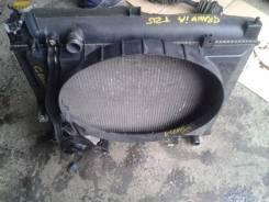 Радиатор охлаждения двигателя. Toyota Grand Hiace, KCH16 Toyota Granvia, KCH16