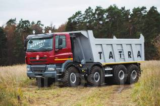 Tatra T158. Самосвал Tatra 8x8 Грузоподъемность 33000, 13 000 куб. см., 33 000 кг.