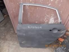 Дверь боковая. Nissan Almera, N16 Двигатели: QG18DE, QG15DE