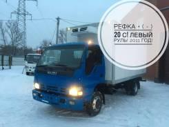 Isuzu NQR. 75 Рефрижератор 2011 год! Левый РУЛЬ в Новосибирске, 5 200 куб. см., 5 000 кг.
