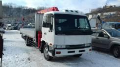 Nissan Diesel Condor. Продается грузовик Nissan Condor 2000 с крановой установкой бп по РФ, 9 200 куб. см., 7 000 кг.