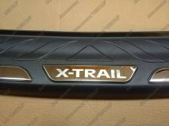 Накладка на бампер. Nissan X-Trail, T32, NT32, HNT32, HT32 Двигатели: R9M, MR20DD, QR25DE