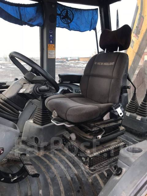 New Holland B115B. Экскаватор погрузчик , 1,20 куб. м.