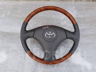 Руль. Toyota: Platz, Corona, Aristo, Ipsum, iQ, Corolla, MR-S, Altezza, Tercel, Dyna, Tundra, Stout, Raum, Sprinter, Vista, Mark II Wagon Blit, Sprint...