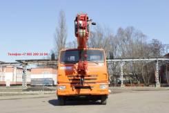 Клинцы КС-55713-1К-3. Кран КС 55713 1К 3 автокран с гуськом Камаз-65115, 2 000 куб. см., 25 000 кг., 28 м.