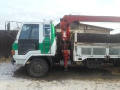 Isuzu Forward. Продается грузовик isudzu forward кран борт, 7 000куб. см., 5 000кг., 4x2