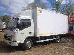 JAC N75. JAC N 75 изотермический фургон, 3 900 куб. см., 3-5 т