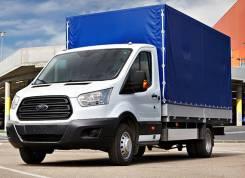 Ford Transit. Продам бортовой с тентом на базе шасси C/CAB 350E, 2 200 куб. см., 999 кг.