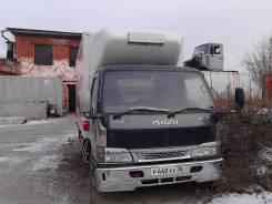 Isuzu Elf. Продаётся грузовик-рефрижератор Isuzu-ELF, 4 985 куб. см., 3 000 кг.