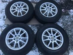 Комплект колес 215/70R16 Toyo Tranpath SU Sport 5*114,3. 6.5x16 5x114.30 ET38 ЦО 73,0мм.