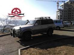 Багажники-корзины. Nissan Safari, 160 Nissan Patrol, 160 Toyota Land Cruiser Prado Toyota Land Cruiser